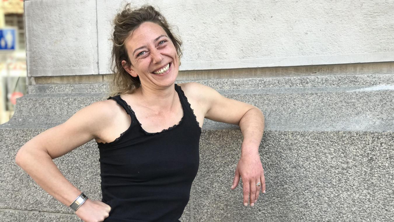 Sarah Lecarpentier, comédienne et metteuse en scène.