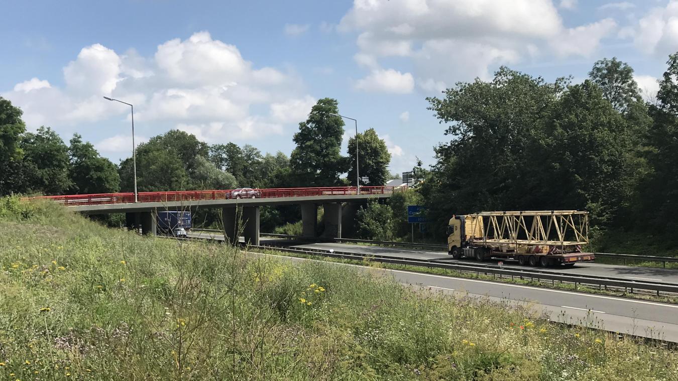 Le corps de Simon a été retrouvé au niveau du pont de Baisieux, sur l'A27.