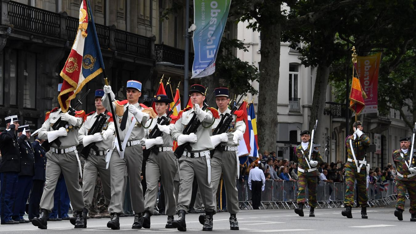 l'an dernier, il n'y a pas eu de défilé militaire à Lille. PHOTO ARCHIVES STÉPHANE MORTAGNE