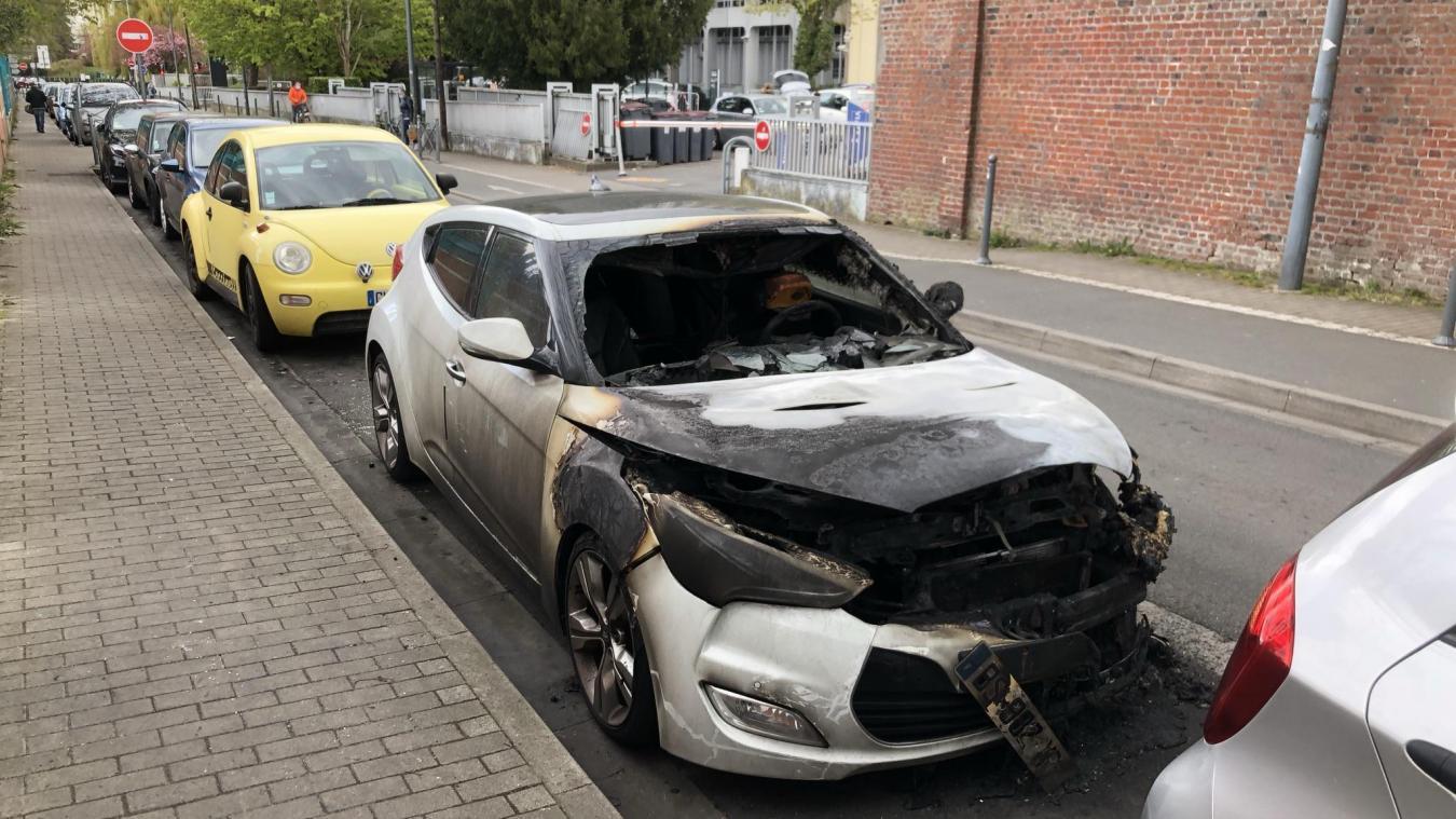 Plusieurs véhicules ont déjà brûlé cette année, sur un intervalle court, notamment rue de La Madeleine.