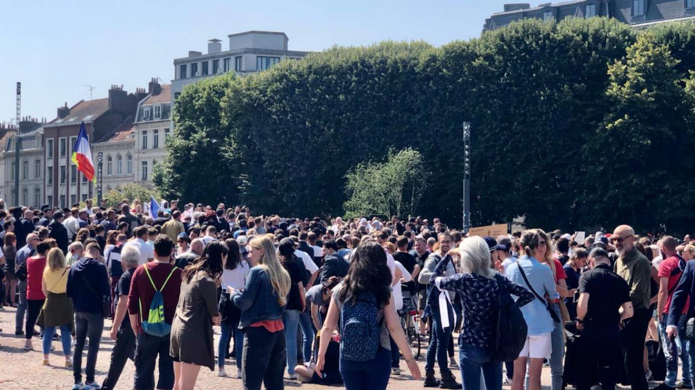 Nouvelle mobilisation des «anti vax - anti pass» ce samedi à Lille.