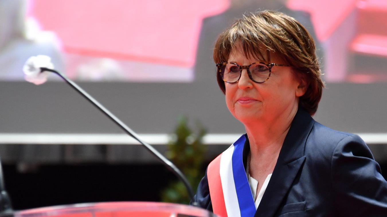 Au terme d'un scrutin au suspense inédit, Martine Aubry a décroché en 2020 un quatrième mandat de maire avec 227 voix d'avance. PH. STÉPHANE MORTAGNE