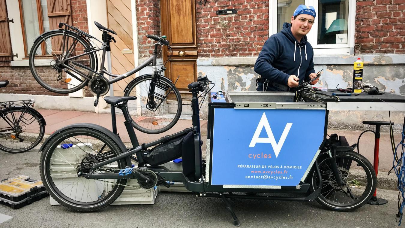 Pour de l'entretien comme pour des réparations, Arnaud rayonne à Lille et dans la métropole.