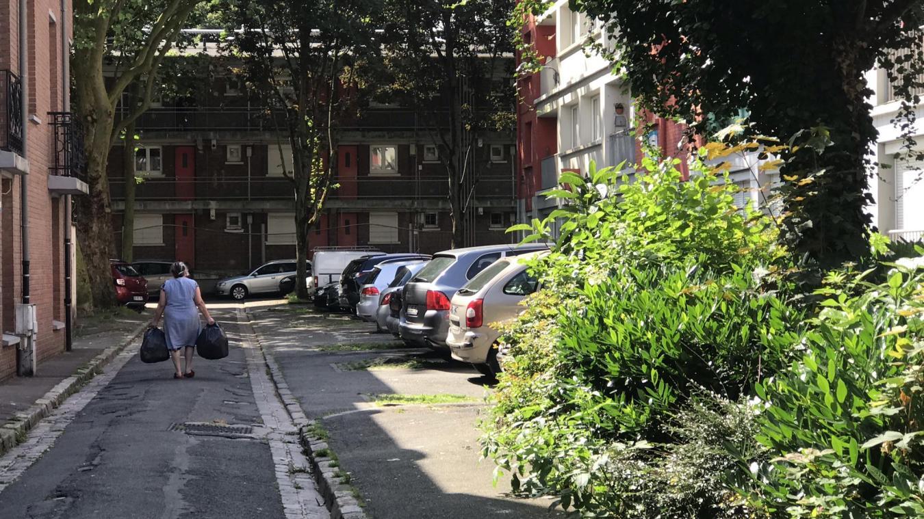 Bordée par des immeubles, la rue Fontenelle est encadrée par la rue Manuel et la rue de Constantine. Photo La Voix