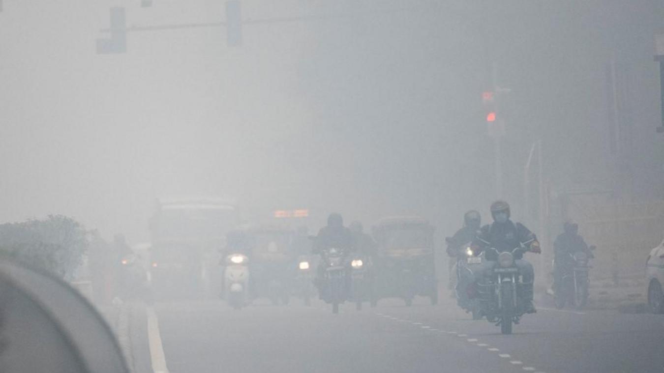 Pollution: l'Inde construit des ventilateurs géants pour tenter d'améliorer la qualité de l'air