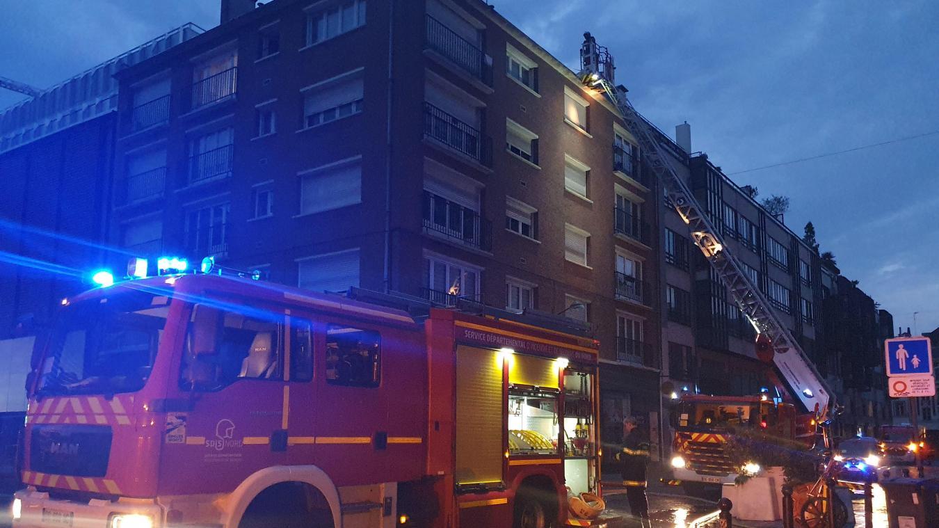 Une trentaine de pompiers ont été mobilisés.