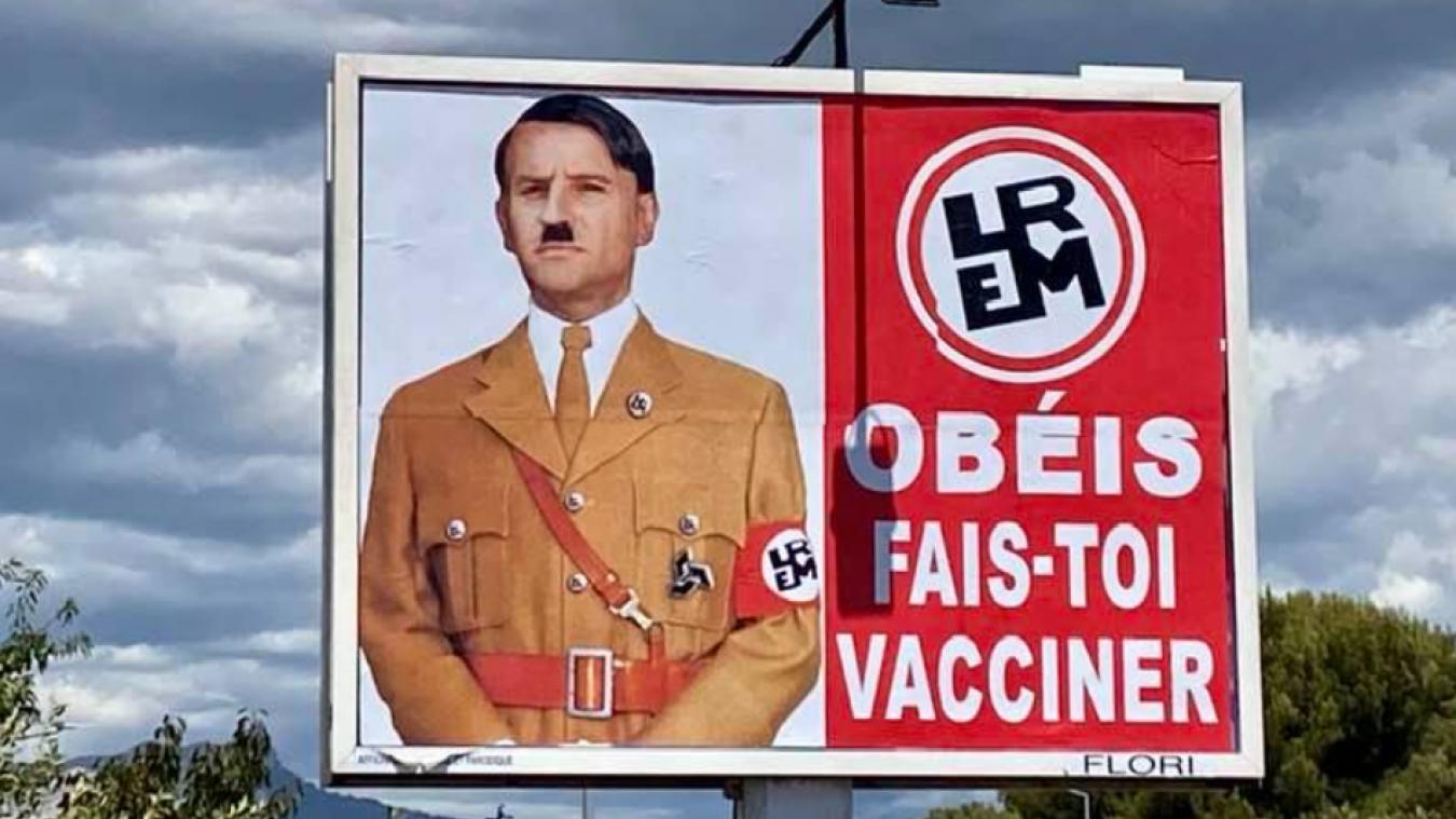 Emmanuel Macron comparé à Hitler: un homme convoqué par la police