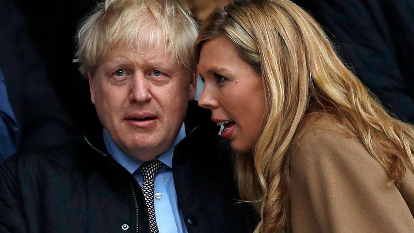 Carrie Symonds et Boris Johnson attendent leur deuxième enfant