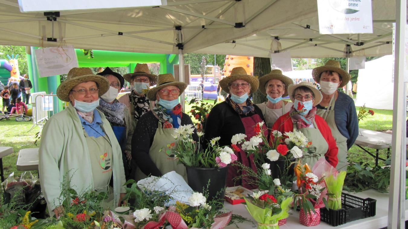Les Estivales au Marais de Lomme: c'était la fête des fleurs