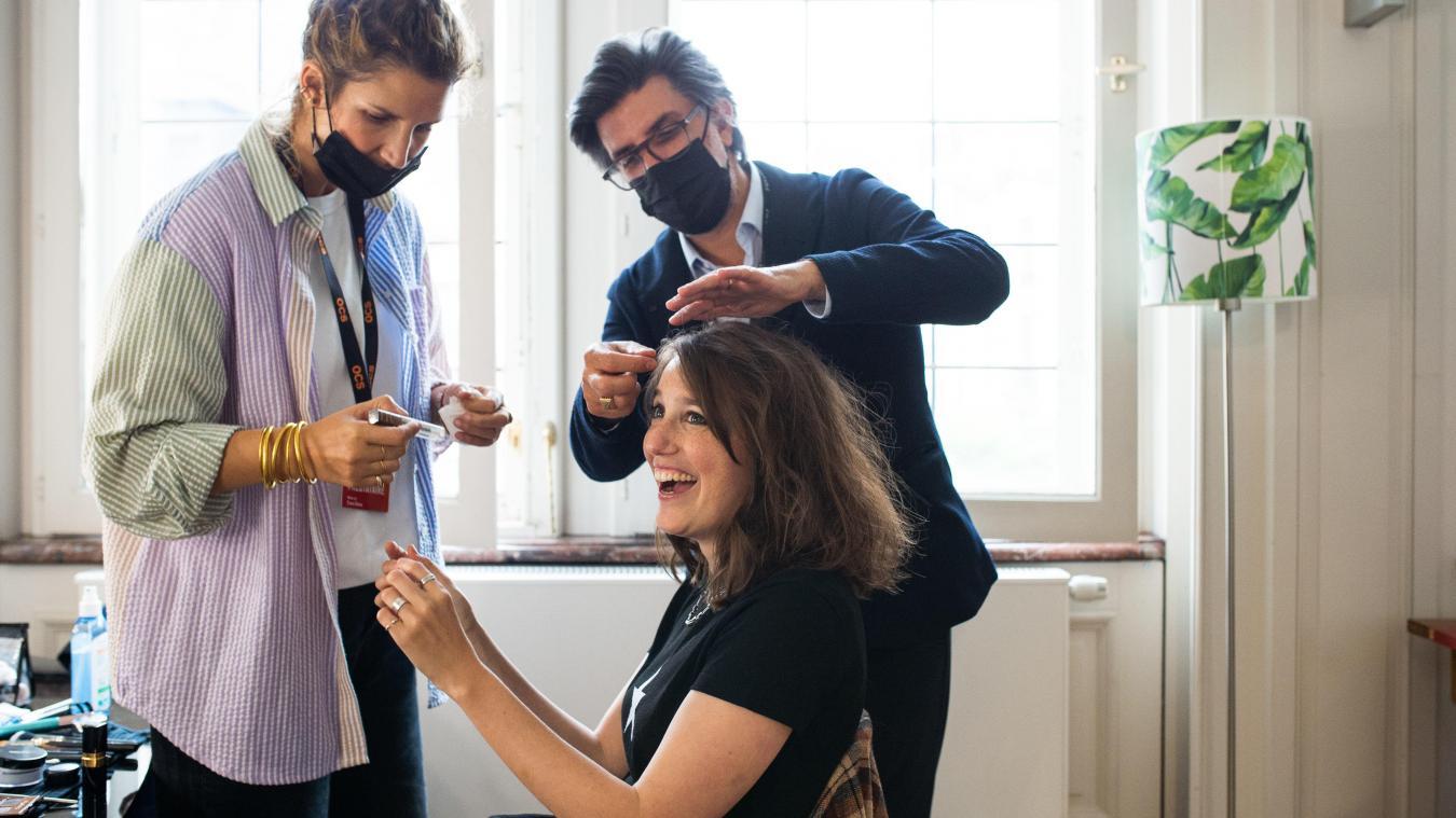 Séries Mania: Michel Argiolas, un coiffeur lillois dans les coulisses du festival