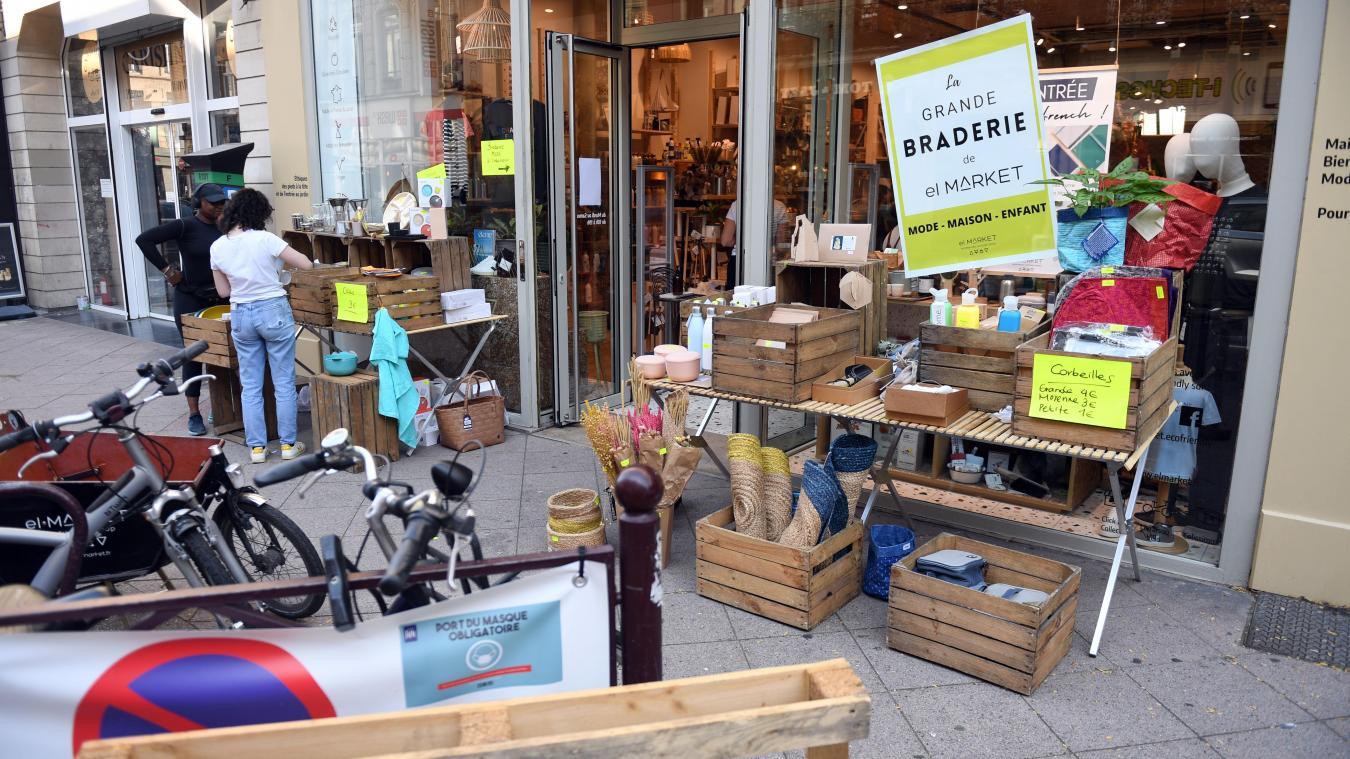 Piétonisation de la rue Gambetta ce week-end à Lille : les commerçants retrouvent le sourire