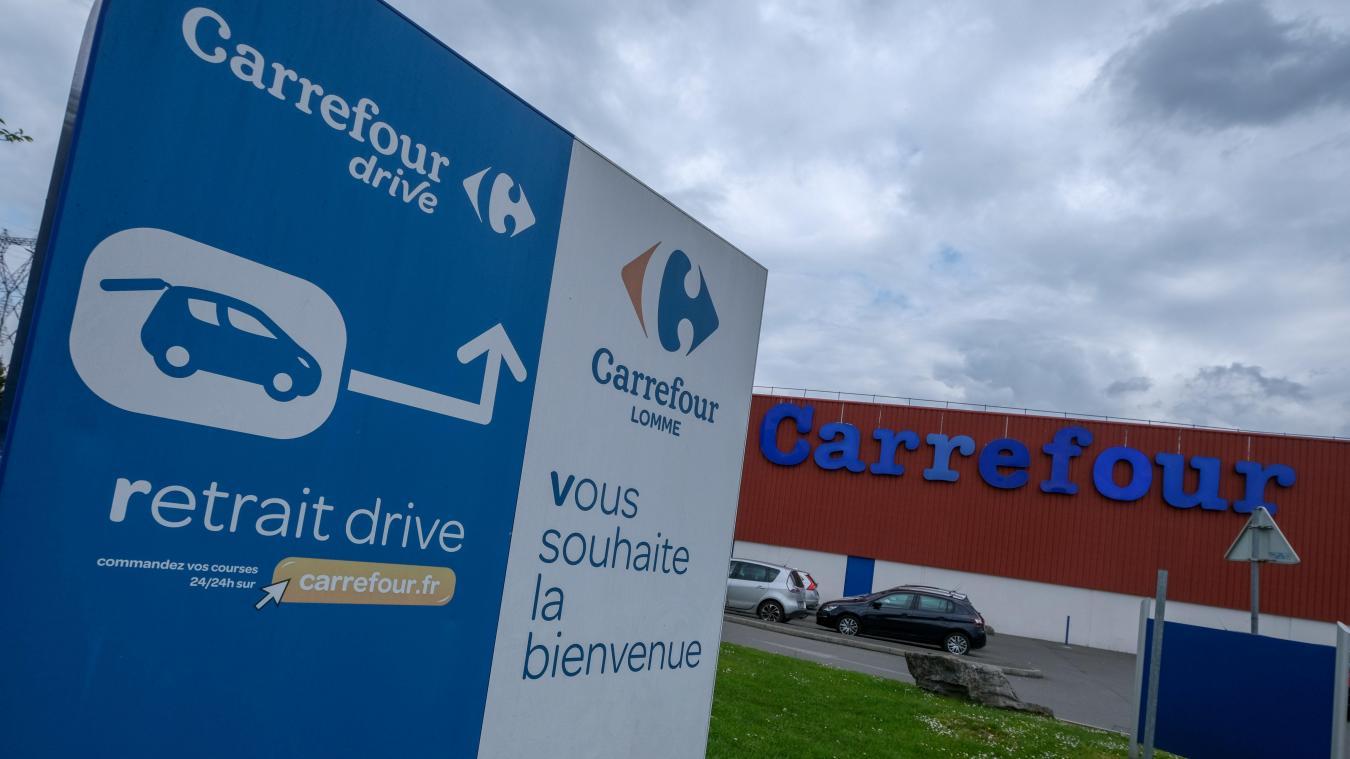 Gros problème électrique à Carrefour Lomme, des clients bloqués en caisse deux heures