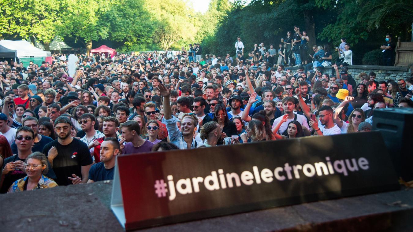 Lille : un Jardin électronique planté de 10 000 festivaliers