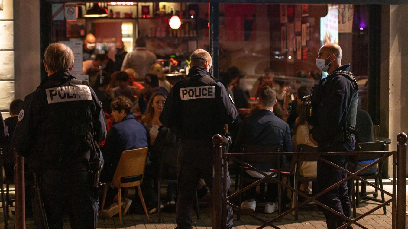 Le suspect a d'abord été repéré par les policiers, rue Masséna à Lille. Photo archives Pascal Bonnière