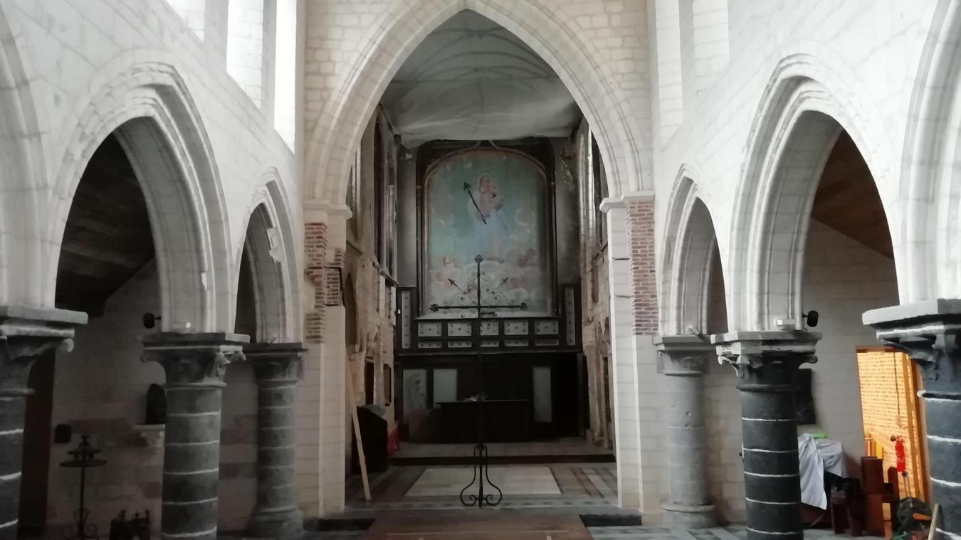 Lille: pour les Journées du patrimoine, la chapelle Notre-Dame de Réconciliation à chœur ouvert