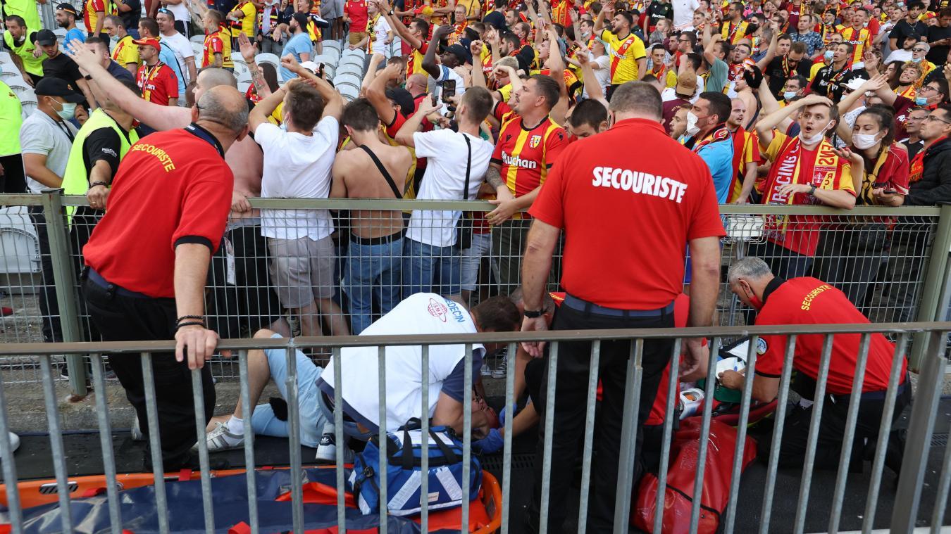 Derby Lens-Lille : 6 supporters blessés après la bagarre entre supporters, 2 interpellés