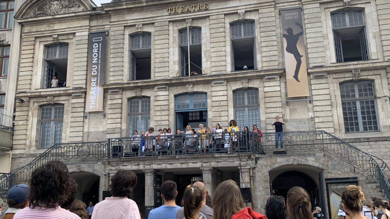 Lille : au Théâtre du Nord, on a célébré les Journées du «Matrimoine»