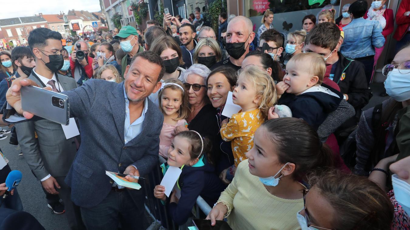 À Vitry-en-Artois, un petit air de festival de Cannes pour le nouveau film de Dany Boon