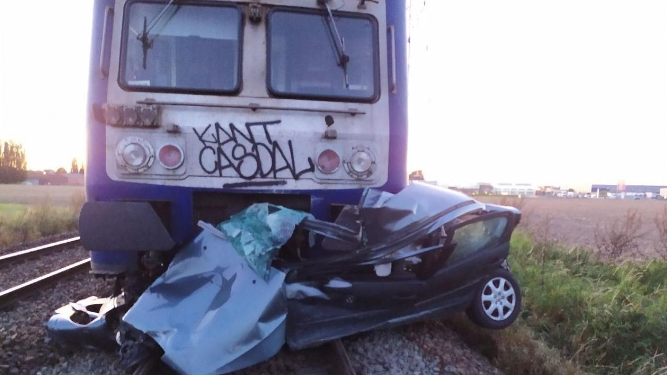 Collision train-voiture à Houplines : pas de victime mais le trafic SNCF perturbé