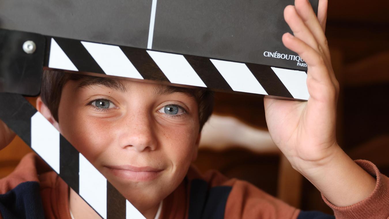 «Le Petit Nicolas», c'est lui: À 10 ans, l'Anichois Ilan Debrabant tête d'affiche au cinéma
