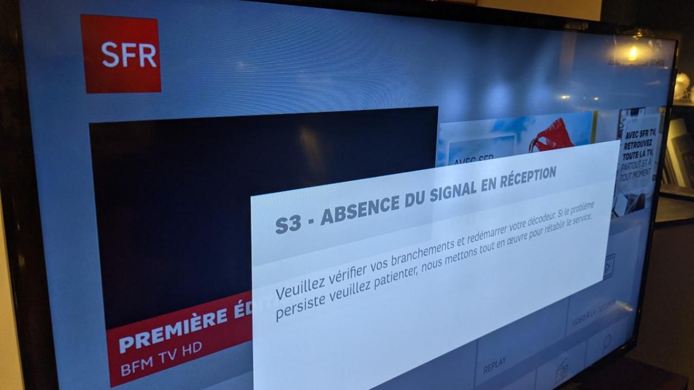 Une panne générale SFR-Numericable touche le secteur de Lille