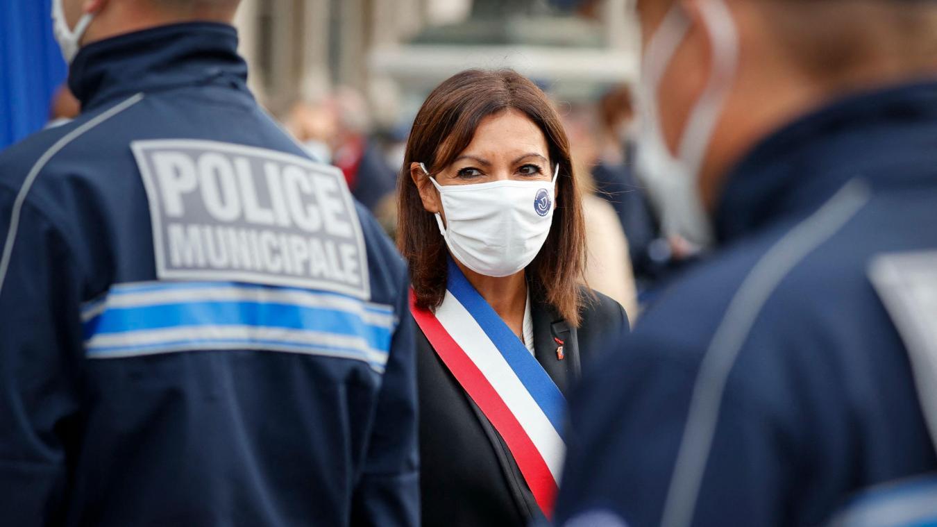 Création d'une police municipale à Paris: Anne Hidalgo a présenté la première promotion