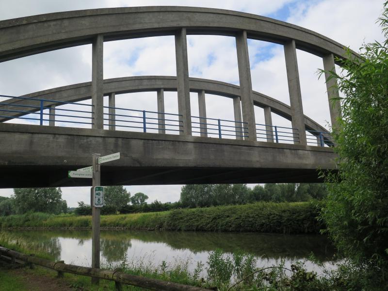 Frelinghem connaissez-vous l'histoire du pont du touquet à frelinghien?