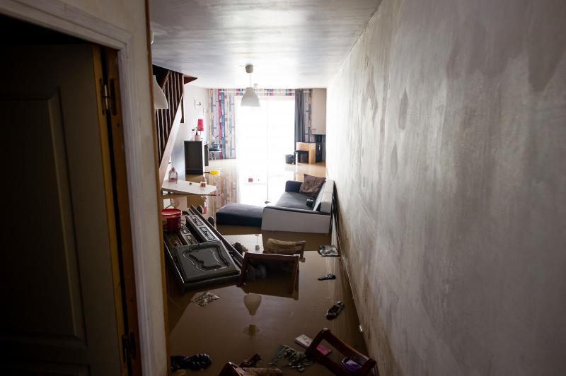 Inondation dans l'Artois. PHOTO D'ILLUSTRATION PASCAL BONNIÈRE