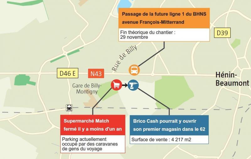 aea4487e57e Montigny-en-Gohelle  Un Brico Cash devrait naître en lieu et place ...