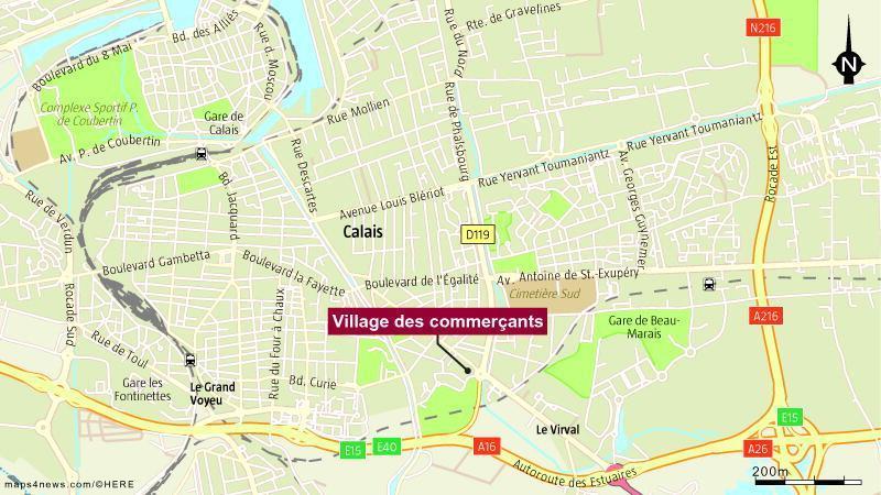 Menu De Noel Chez Henri Boucher.Calais Le Village Des Commercants A Ouvert Ses Portes