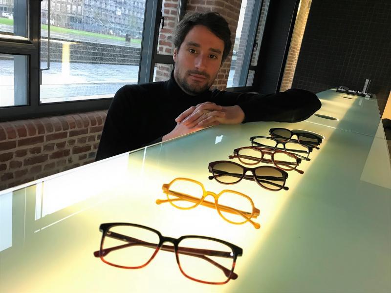 d8b9d855ce3 Gonzague Petit a créé Lance Glasses pour « démocratiser la lunette haut de  gamme au juste
