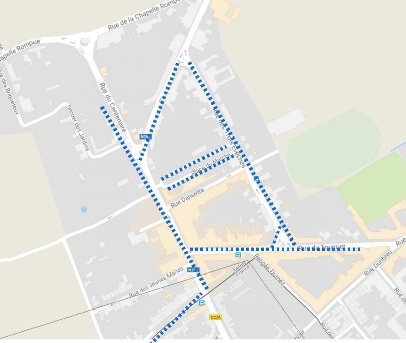 Carte Zone Bleue Tournai.Comines B Trois Ans Apres Sa Mise En Place La Zone Bleue