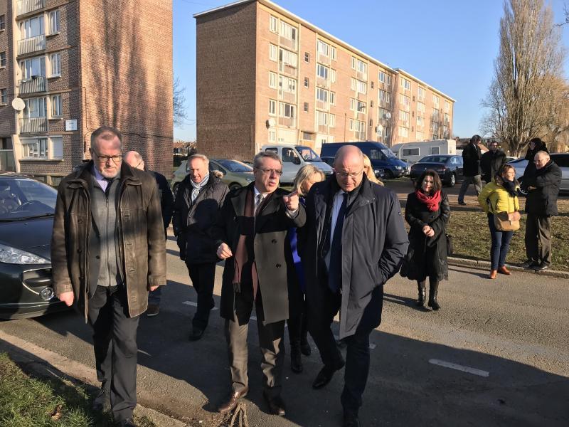 Wattrelos Des Trottoirs Pour Commencer La Renovation Des Villas