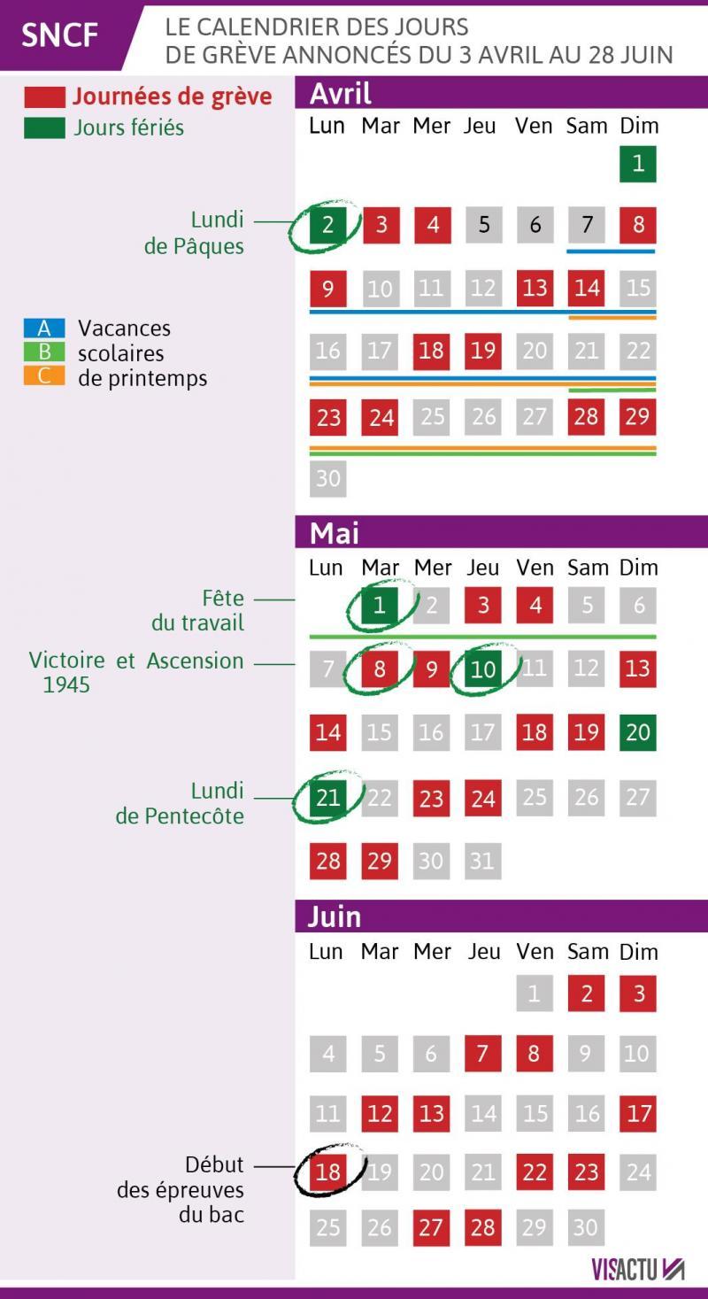 Greves Sncf Calendrier 2020.Greve A La Sncf Votre Train Circule T Il Ce Mercredi