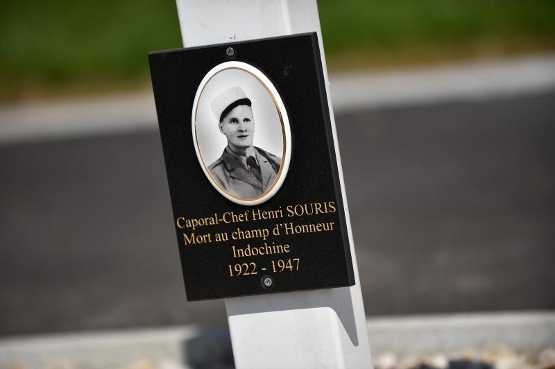 Henri Souris a été tué le 20 octobre 1947, dans la région du Tonkin. Il avait une fille, Marie-Paule, décédée. PHOTO PIERRE ROUANET