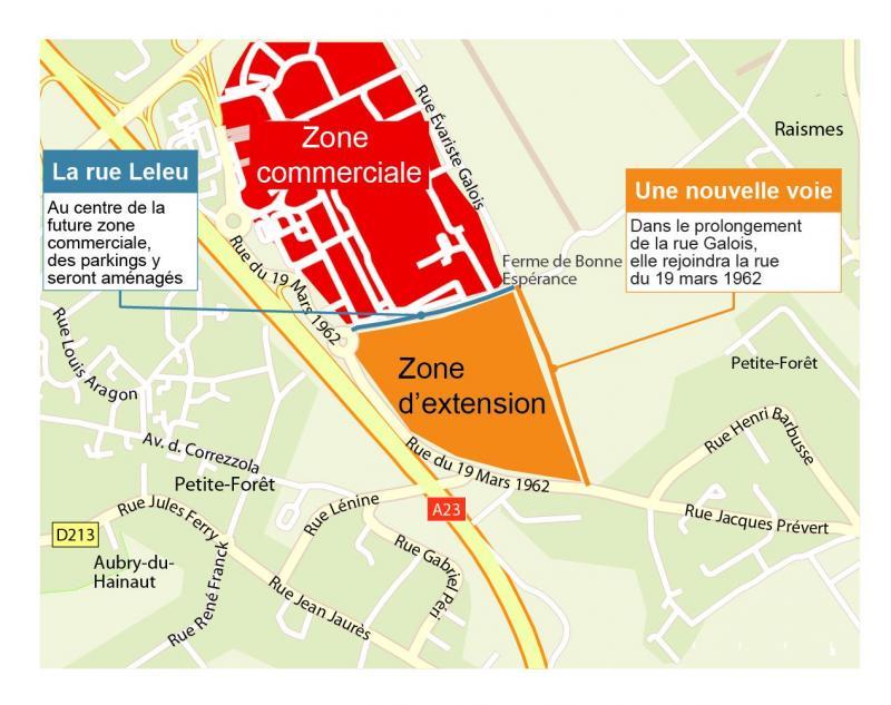 Carte Tnt Auchan.Petite Foret Auchan Cree Une Nouvelle Rue Pour Agrandir Son Centre