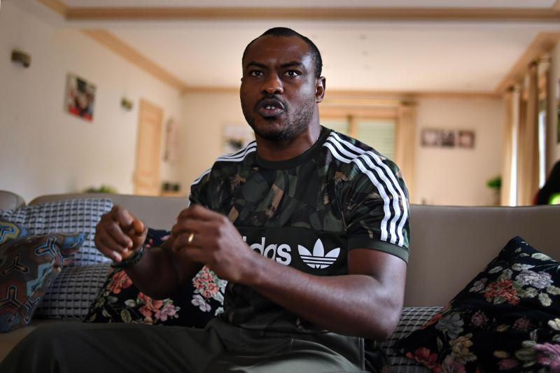 Vincent Enyeama se sent bien dans le Nord. PHOTO FLORENT MOREAU