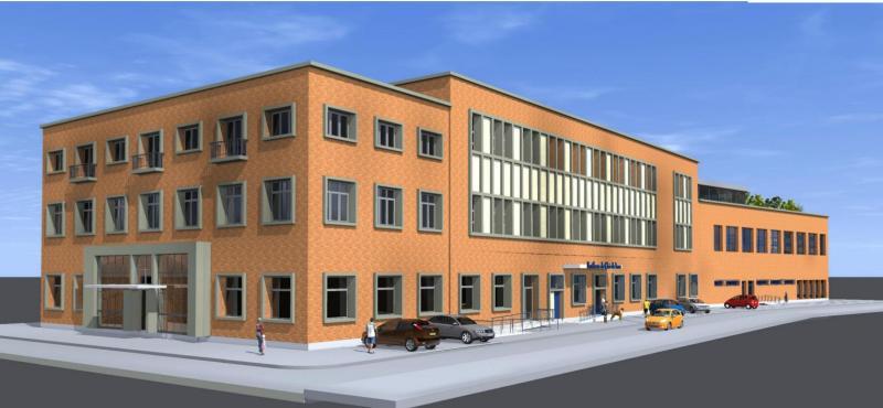 Le bâtiment situé entre La Poste et la médiathèque de Maubeuge accueillera  des chambres étudiantes ( 89e2ccf5890