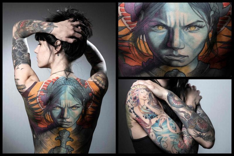 Salon Les Photos Des Plus Beaux Tatouages Du Mondial De Paris