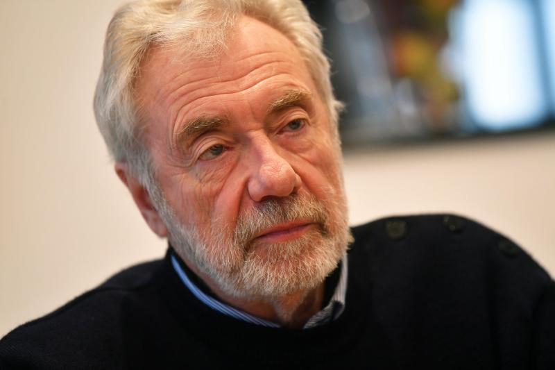 Paul Jorion, anthropologue, professeur associé à l'Université catholique de Lille. PHOTO PHILIPPE PAUCHET / LA VOIX DU NORD