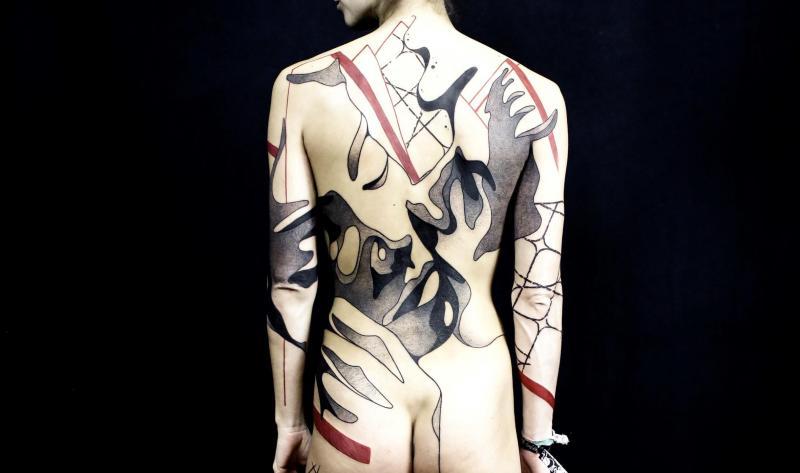 Mondial Du Tatouage De Paris Seb Inkme Un Tatoueur De Mons