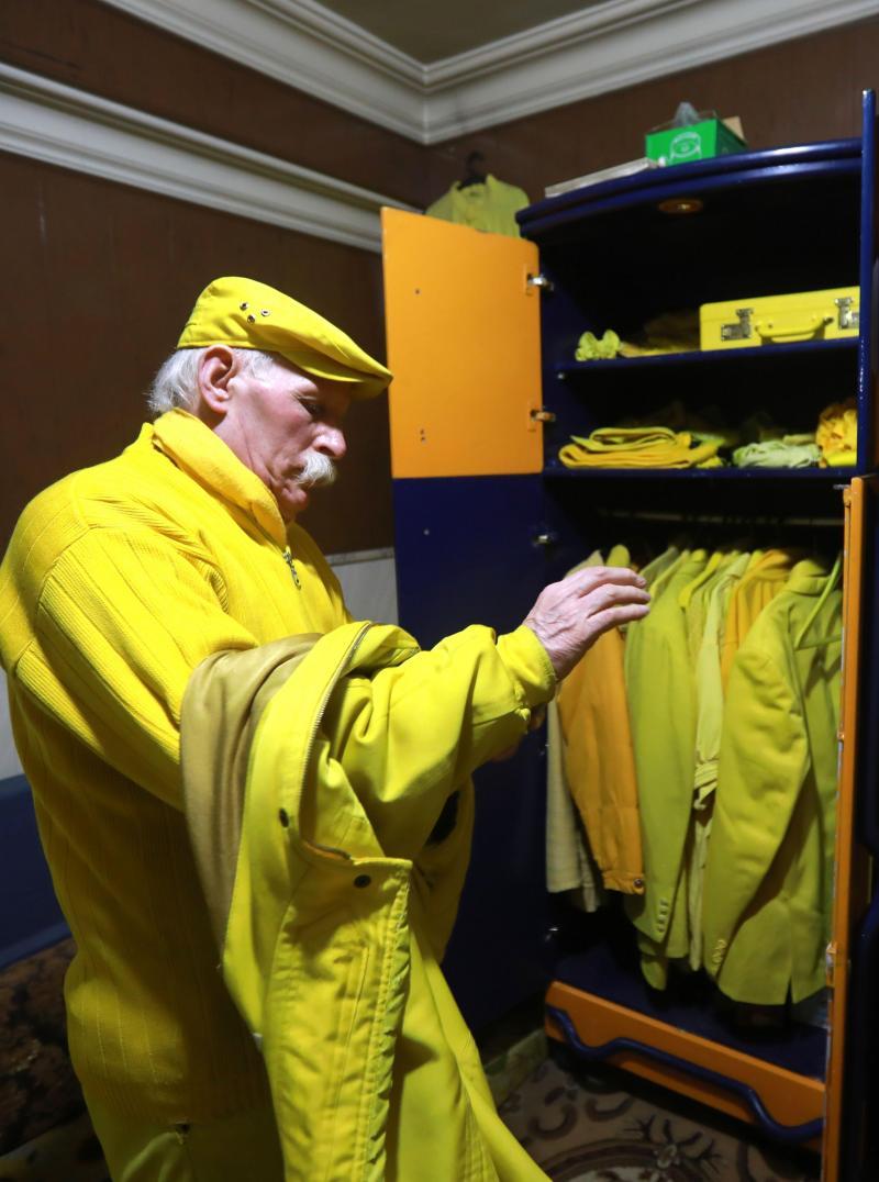 Syrie À Alep, cet homme s'habille et mange en jaune depuis 36 ans.. B9719114778Z.1_20190402133728_000%2BGHCDA7EBS.2-0