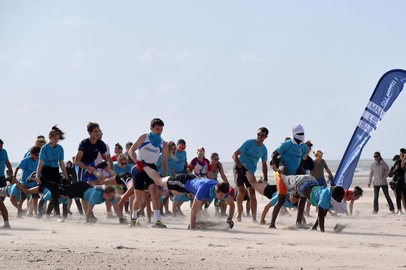 La première édition de l'événement a attiré 49 équipes. Photo Marc Demeure.