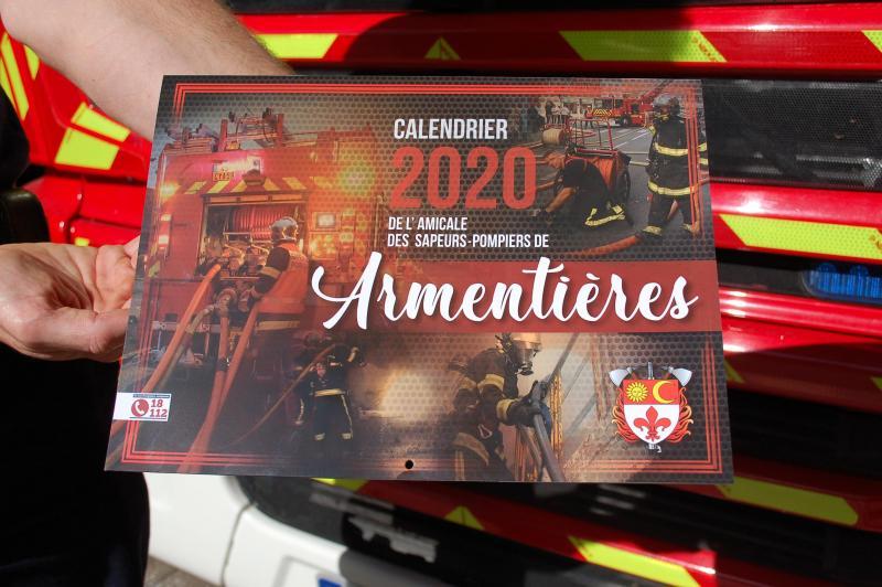 Calendrier 2020 Pompiers.Armentierois Samedi Les Pompiers Commencent Deja A Vendre