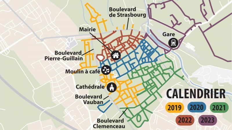 Saint-Omer balise ses zones 30 pour mieux partager la route