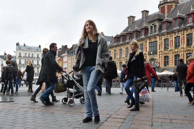 Marcon Pernelle sans mains ni pieds elle est parfaitement intégrée et suis un cursus à Sience Po Lille. PHOTO PHilippe PAUCHET