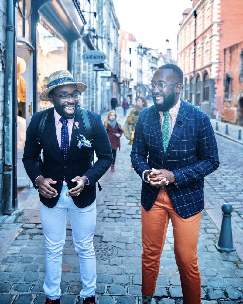 Gaudrey et Freddy Chokote veulent créer la plus grande chaîne de restaurants afro en France, « Les Tontons Afro ». REPRO « LA VOIX »