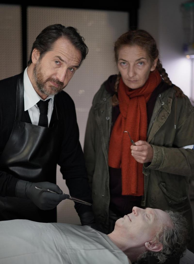 Édouard Baer et Corinne Masiero. Photo Christophe Brachet