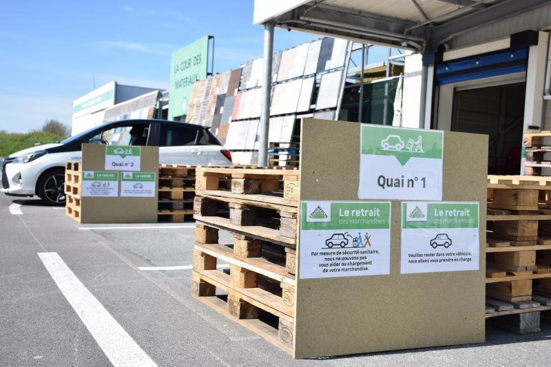 Avec Le Confinement Qui Dure Les Magasins De Bricolage De Calais Sont Pris D Assaut