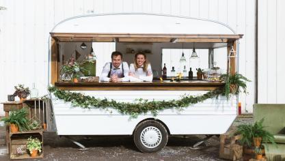 Tourcoing - Mister Gypsie, le bar caravane mobile et vintage